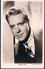 MGM PICTUREGOER RP POSTCARD NELSON EDDY