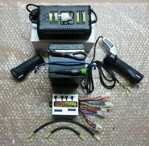 Cruzin Cooler 300 watt Performance 36 volt upgrade kit! from Fast Scooters