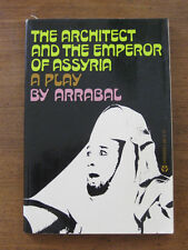 THE ARCHITECT AND EMPEROR OF ASSYRIA play Fernando Arrabal- 1st PB 1969 Grove