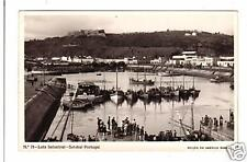 Portugal postcard Setabal, Lota Industrial