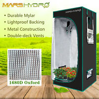 2'x2' Grow Tent Room Box Reflective Mylar Hydroponic Same fabric to Gorilla Tent