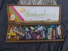 Vintage Talens Rembrandt Soft Pastels For Artists