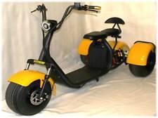 3 Wheel Trike 1500w 60v E-Scooter Scooterfied.com 18.5 Fat Tire chopper harley