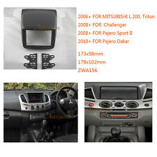 Car Radio fascia for MITSUBISHI L 200 Triton Challenger 2008+; Pajero Dakar 2010