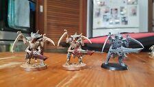 3x Tyranid Warriors Warhammer 40k