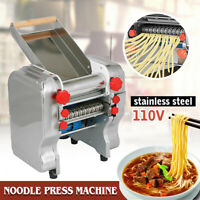 US110V Electric Pasta Press Maker Noodle Machine Stainless Steel Commercial Home
