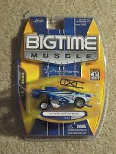 Jada Toys Die-cast Bigtime Muscle 1967 '67 Shelby GT-500 Funny Car Blue 1/64 MOC