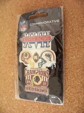 large Washington Redskins vs Miami Dolphins SB Super Bowl XVII 17 pin