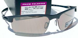NEW Oakley Carbon Blade Matte POLARIZED PRIZM Gray Daily Sunglasses 9174-07