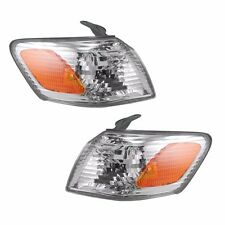 2000 2001 FOR TY CAMRY CORNER PARK SIGNAL LAMP LIGHT PAIR RIGHT AND LEFT SET