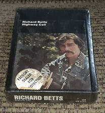 RICHARD Dickey BETTS - Highway Call SEALED NEW 8-track Tape - Allman Brothers