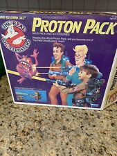 VTG. KENNER 1984 THE REAL GHOSTBUSTER PROTON PACK & PKE METER ORIG BOX COMPLETE