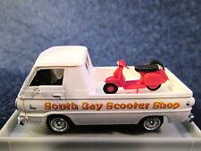 "Brekina (HO 1:87) Dodge A100 Pick Up w/Scooter ""South Bay Scooter Shop #34334"