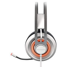 SteelSeries Siberia 650 USB Wired 7.1 Gaming Headset - White