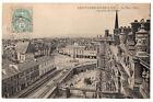 CPA 78 - SAINT GERMAIN EN LAYE (Yvellines) La Place Thiers, vue prise du Château