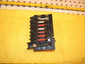 Mercedes R129 SL in trunk REAR small fuse box Genuine OEM 1 Assembly,1295400450