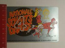 Aufkleber/Sticker: KNSB nationale schaats daagse 4 (170117140)
