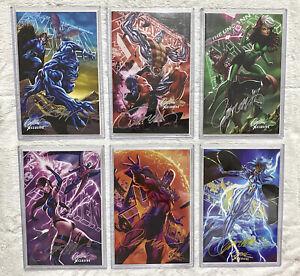 🔥 X-Men LEGENDS #1 & Uncanny X-Men #1 SIGNED By J Scott Campbell MEGA BUNDLE 🔥