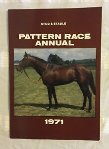 Stud and Stable Pattern Race Annual 1971 - Softcover with Photos / Listings