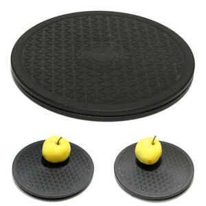 10 inch Rotating Lazy Susan Swivel Plate Turntable Home Kitchen Food Dining Tool