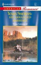 NEW - His Arranged Marriage (Texas Sheiks) by Tina Leonard