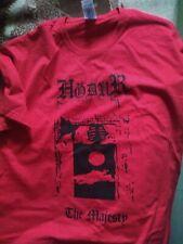 HODUR-the majesty -t-shirt-size-L-black metal