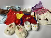 Cabbage Patch Kids Clothing Lot - Dutch Shoes Bunny Slippers Giants Uniform