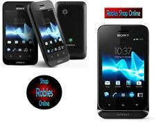 Sony Xperia Tipo ST21i Black (Ohne Simlock) 3G WLAN GPS 3,2MP Android 4.0.4 TOP