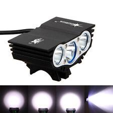 12000LM 3x XM-L T6 LED SolarStorm Front MTB Bike Cycling Bicycle Lamp Headlight