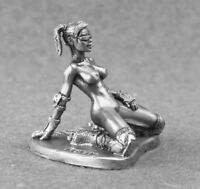 Toy Soldiers Sexy Girl Figurines 1/32 Erotic Nude Lady 54mm Metal Naked