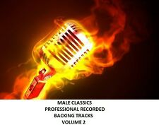 MALE CLASSICS PROFESSIONAL RECORDED  BACKING TRACKS VOLUME 2