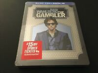 The Gambler [Blu-ray / DVD] Limited Edition Steelbook, Mark Wahlberg