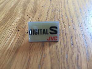 JVC Digital S Pin Badge