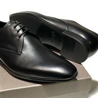 Giorgio Armani ITALY Black Leather Formal Dress Oxford Men's Shoes X2C036 Tuxedo