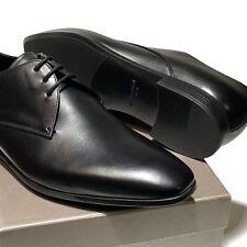 550ad88272e Giorgio Armani Mens Leather Lace-up Dress Shoes Black 8 UK (9 Us)