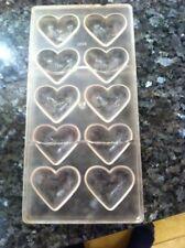 Chocolate Mould Polycarbonate Sugarcraft Mold Cake Decorating Tool Heart Shape