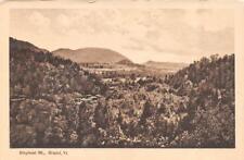 BRISTOL, VT Vermont    ELEPHANT MOUNTAIN   Addison County     Postcard