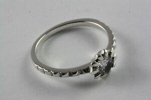 Design Zirconia Stone Women's Ring Real 925 Silver Ring /649