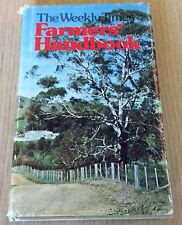 THE WEEKLY TIMES FARMERS HANDBOOK - Cattle, Birds, Pigs - 6th Edition - HCDJ