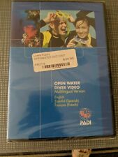 Padi Open Water Diver Course English Spanish French Dvd Multilingual New
