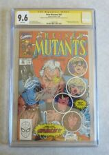 New Mutants #87 CGC 9.6 Signed by Stan Lee & Todd McFarlane 1st Appearance Cable