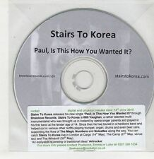 (GS997) Stairs To Korea, Paul Is This How You Wanted It? - 2010 DJ CD