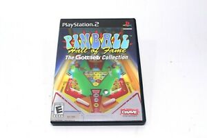 Pinball Hall of Fame Gottlieb Collection PS2 PlayStation 2 Complete Case Manual