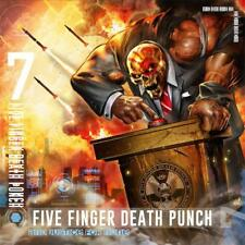 FIVE FINGER DEATH PUNCH - AND JUSTICE FOR NONE CD ~ IVAN MOODY ( WASP ) *NEW*