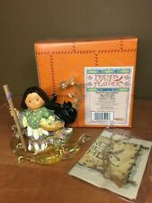 Friends Of The Feather Spirit of Dependability Figurine Enesco Girl With Geese