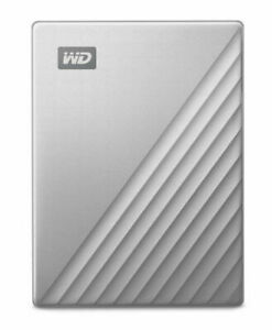 NB Western Digital My Passport ULTRA 2TB Portable External HDD Silver WDBC3C0020