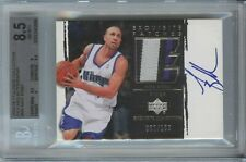 Mike Bibby 2003 04 UD Exquisite Collection Patches Kings Patch Auto /100 BGS 8.5