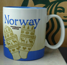 Starbucks City Mug Tasse Becher Cup Norway Norwegen 16oz NEU