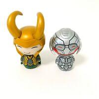 Funko Dorbz Marvel Loki And Ultron 2015 Figure lot of 2