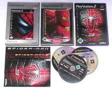 Spiele: SPIDERMAN 1-3 (1 + 2 + 3) Spider-Man für die Playstation 2 - 3 Spiele